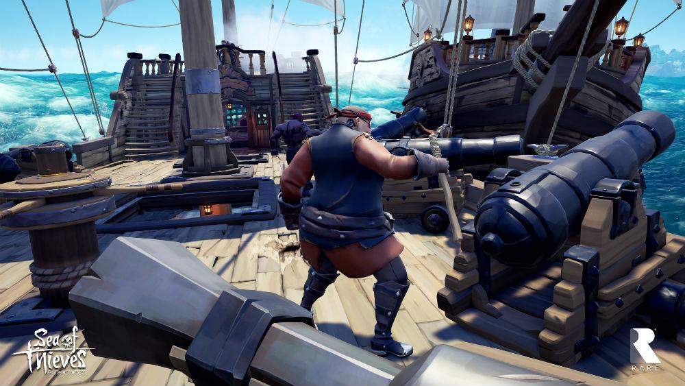 Sea of Thieves sailing