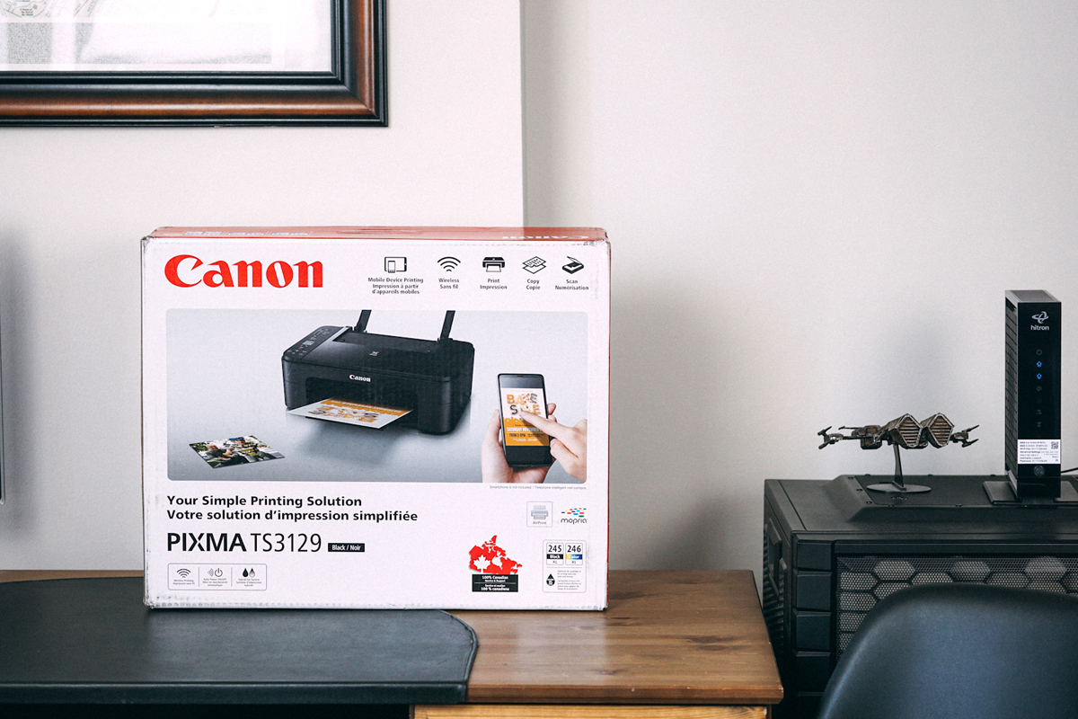 Basic at-home printing: Canon TS3129 review | Best Buy Blog