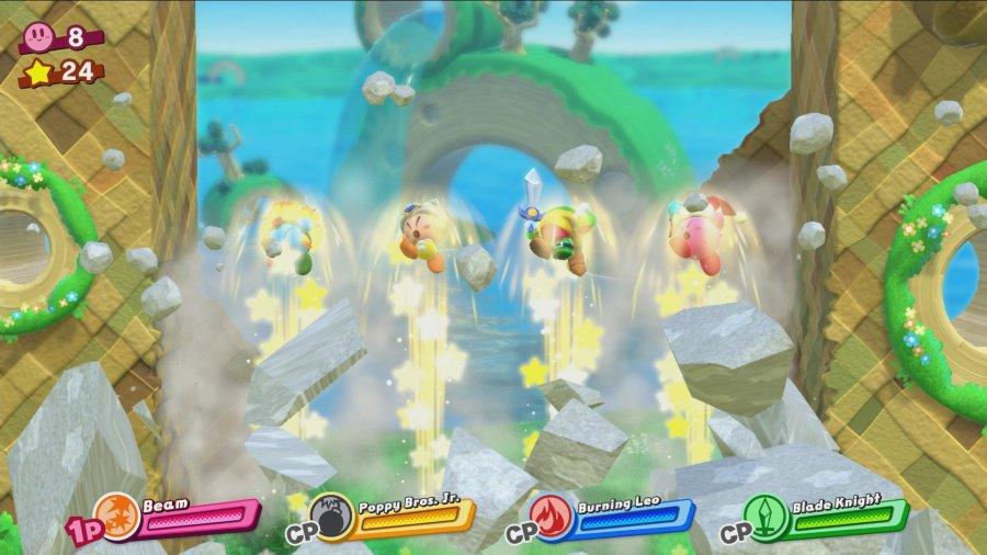 Kirby Star Allies 4player
