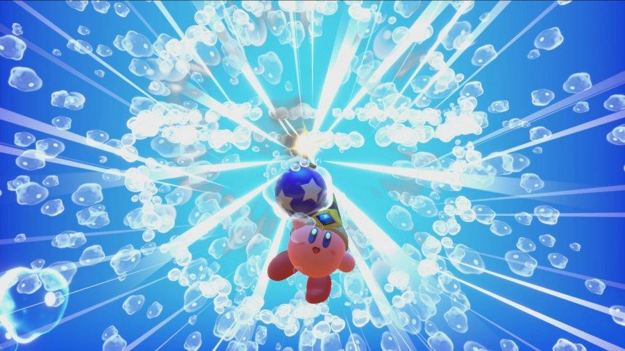 Kirby Star Allies bomb