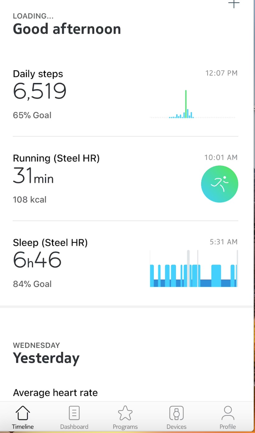 Review Of The Nokia Steel HR With Heart Rate Monitoring