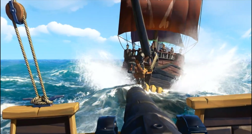 Sea of Thieves cannonball