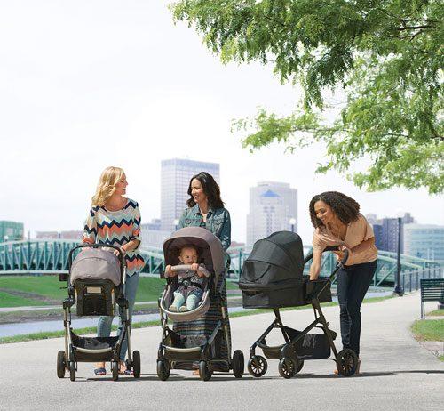 evenflo pivot stroller system