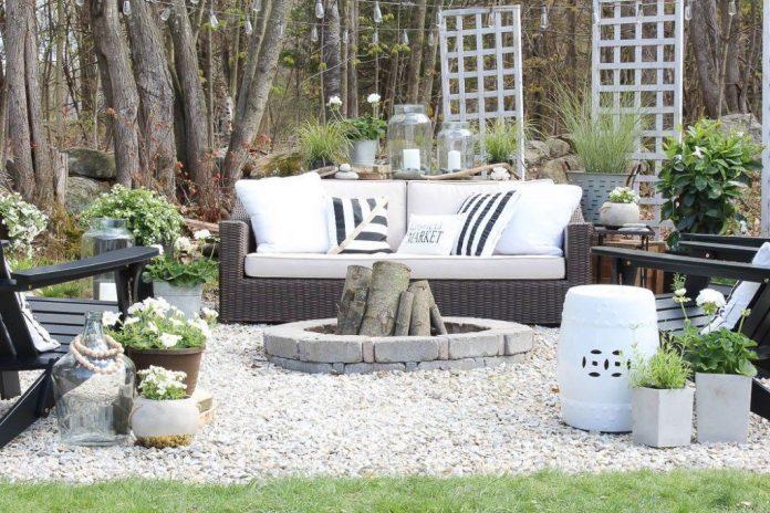 patio furniture backyard patio makeover