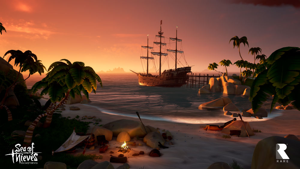 Sea of Thieves islands
