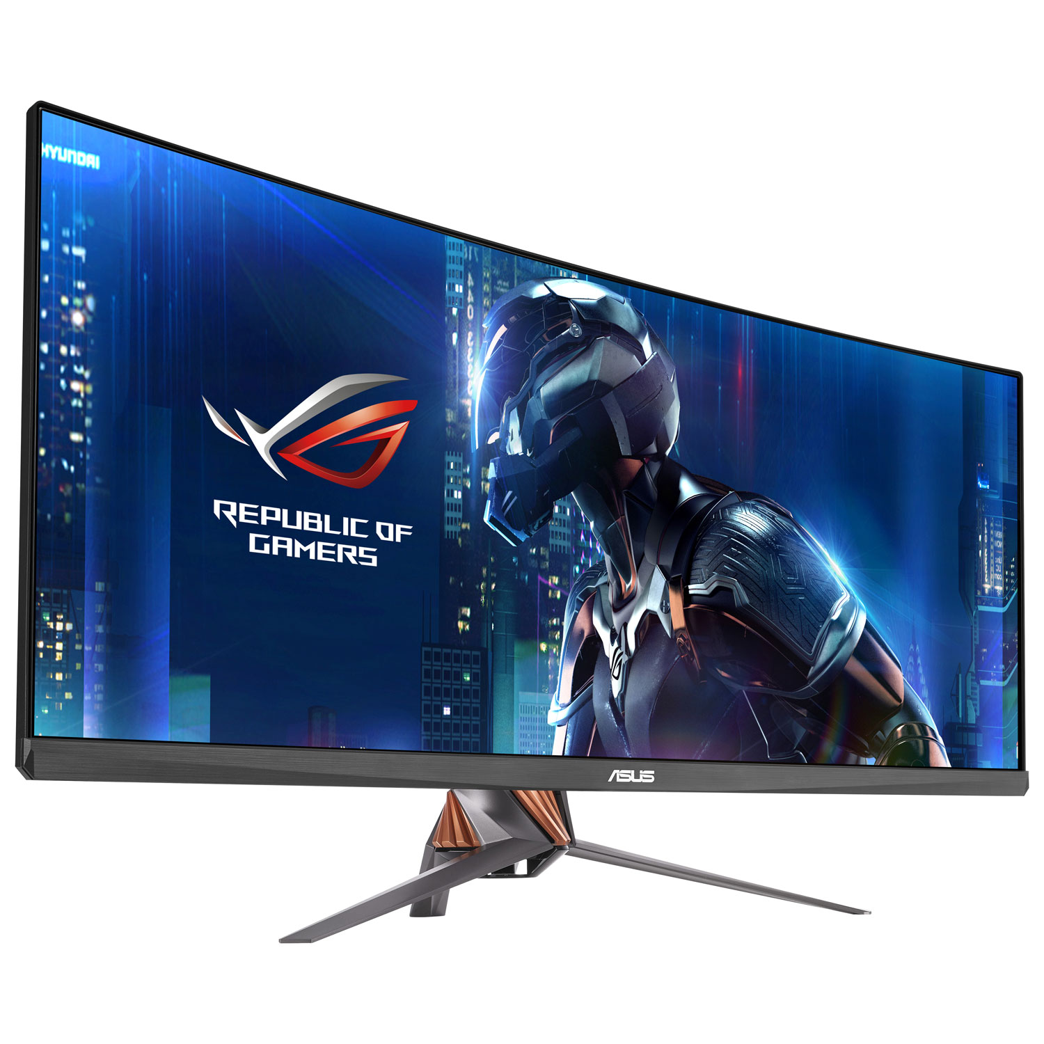 Curved gaming monitor