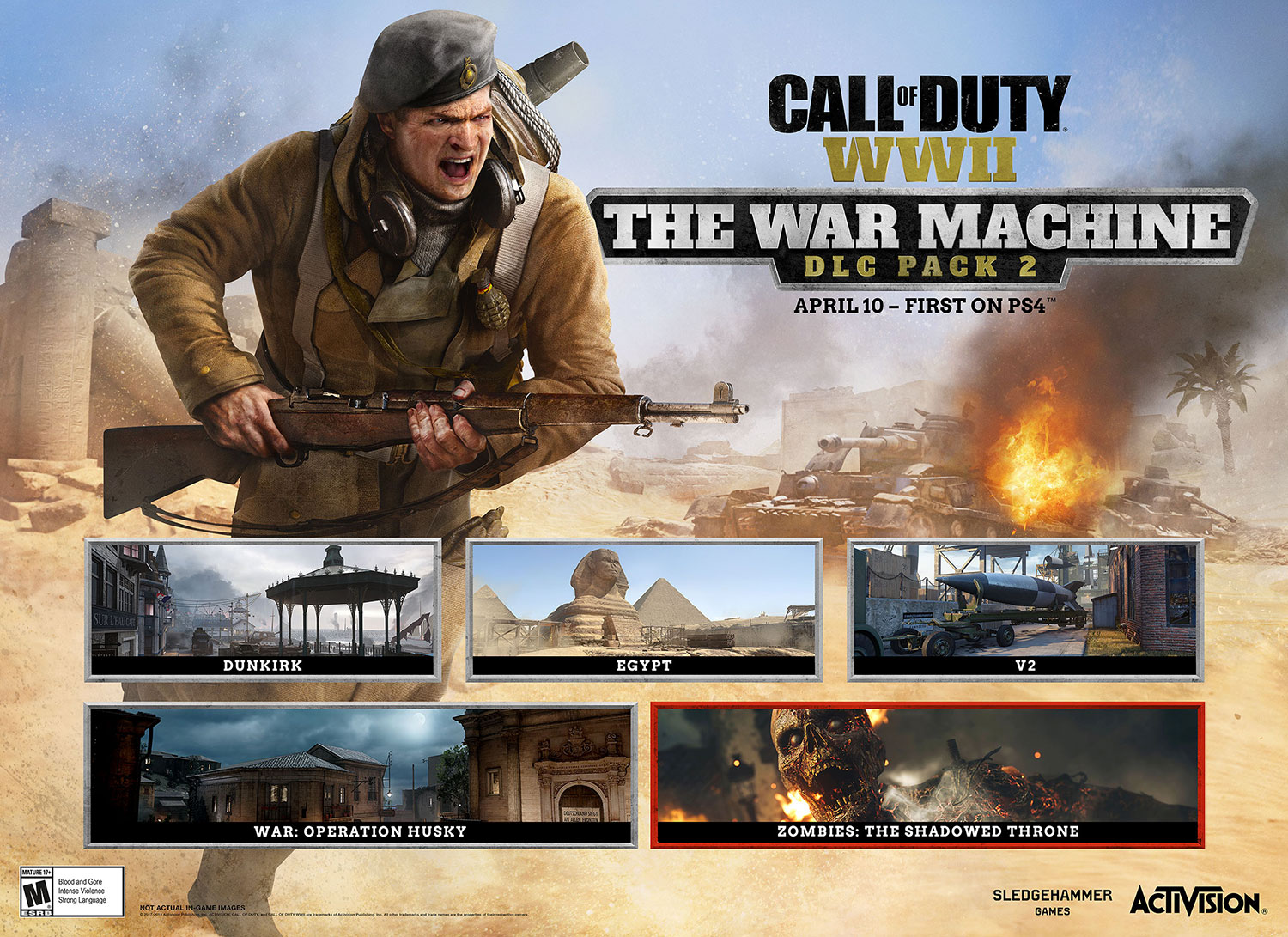 CoD WWII: The War Machine DLC Pack 2 for PS4 | Best Buy Blog