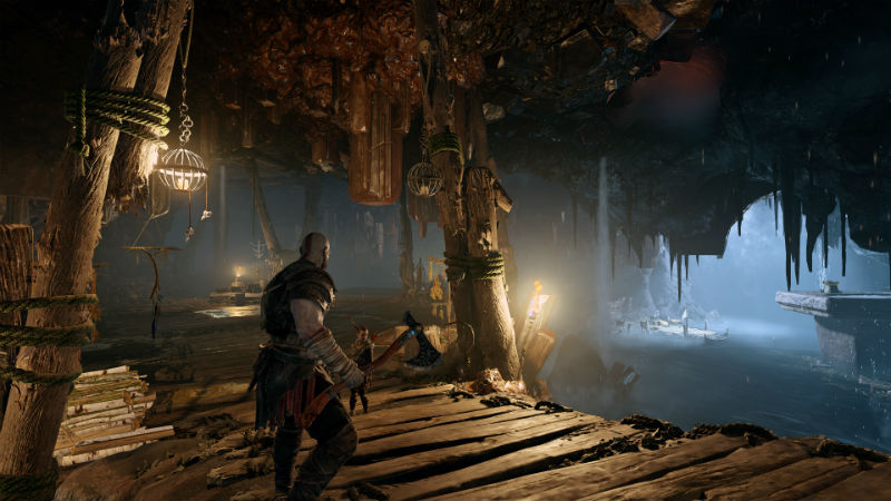 God of War lighting