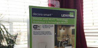 Leviton Wi-Fi Dimmer Switch Box Pic