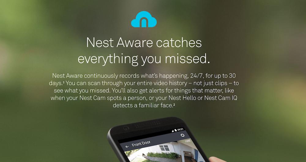 Nest Aware Subscription