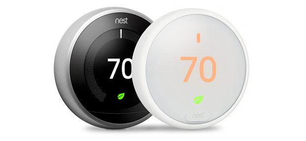 Nest and Nest E Learning Thermostat