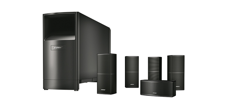 A photo of the Bose Acoustimass 10 Series V 5.1 Speaker System