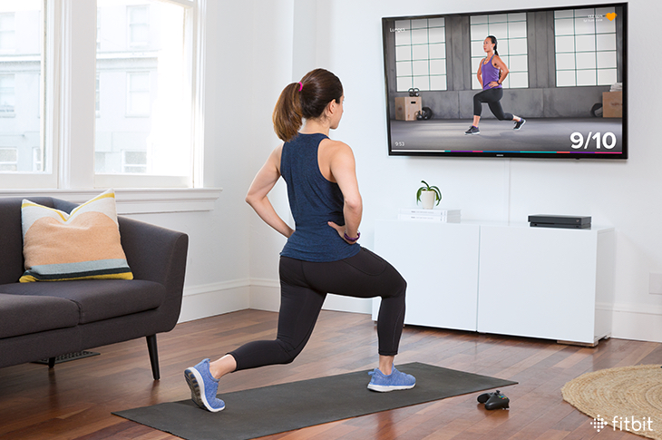fitbit workout on demand