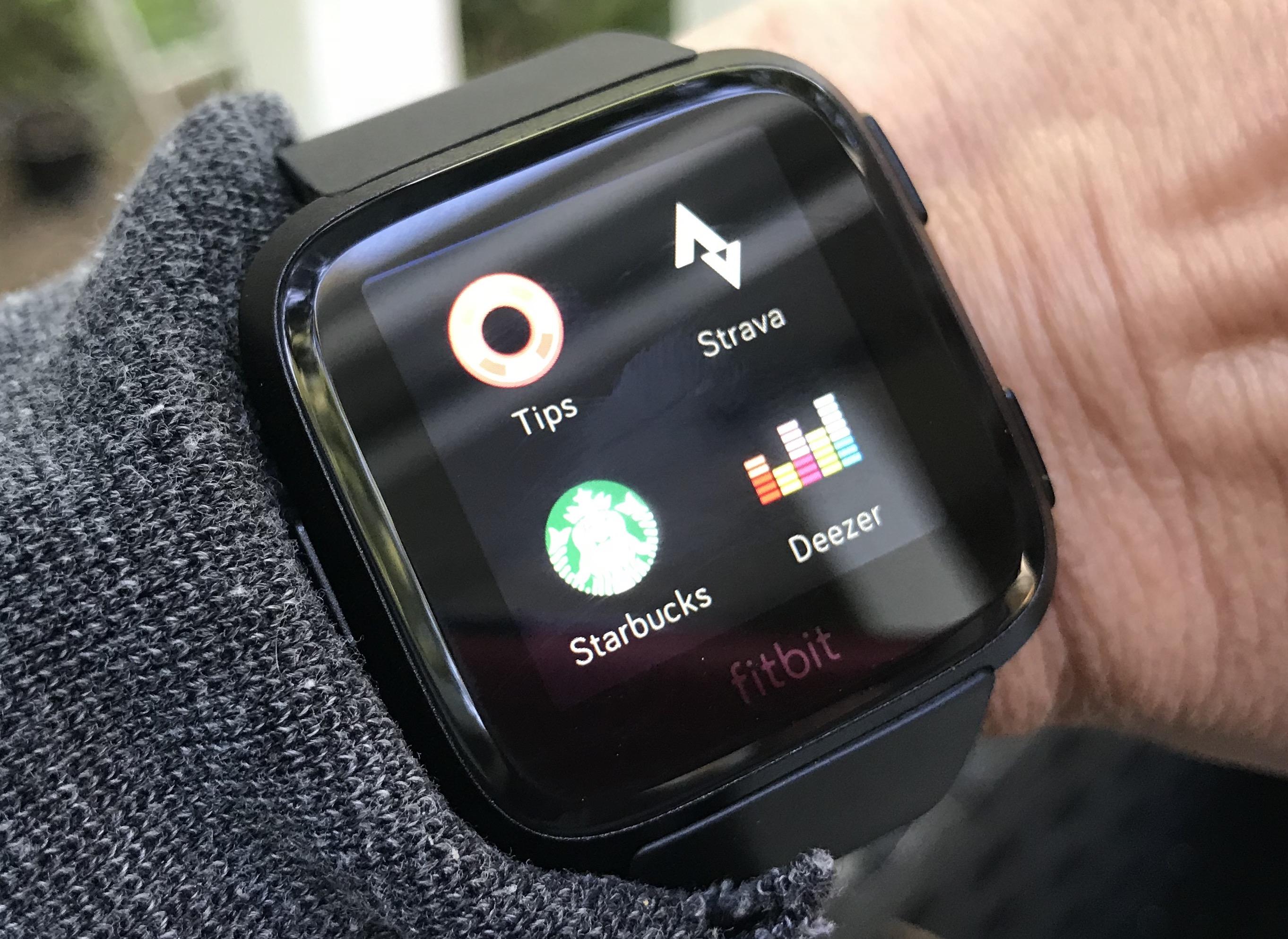 Apps Fitbit Versa