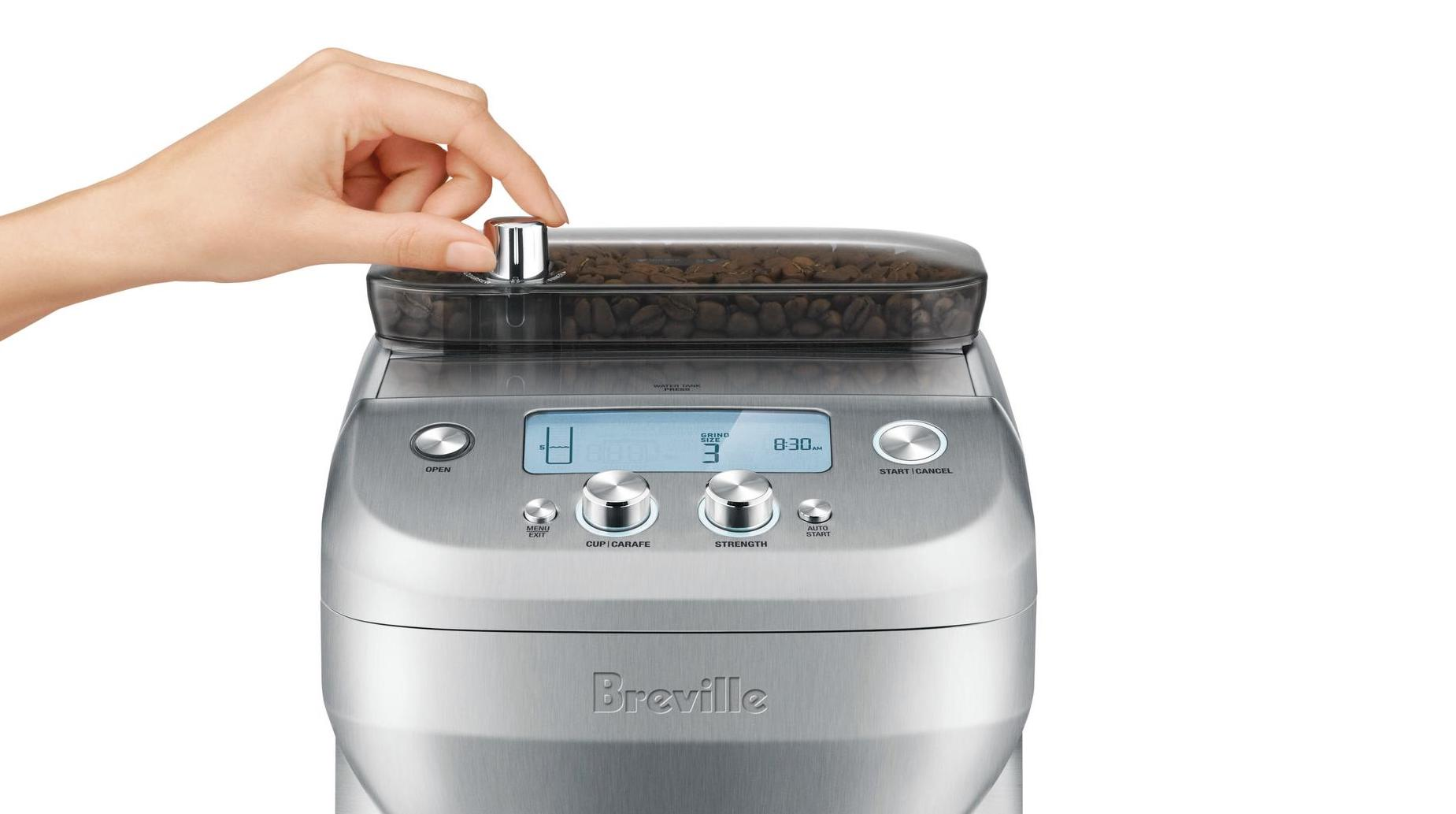 Brew strength drip coffee maker