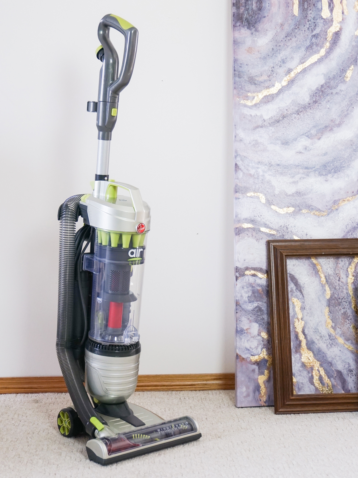 Hoover Air Lite Bagless Upright Vacuum Review How Light