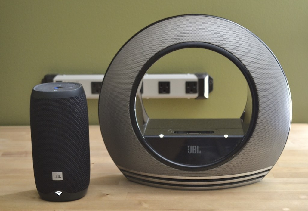 JBL Link 10 review, a portable smart speaker with integrated