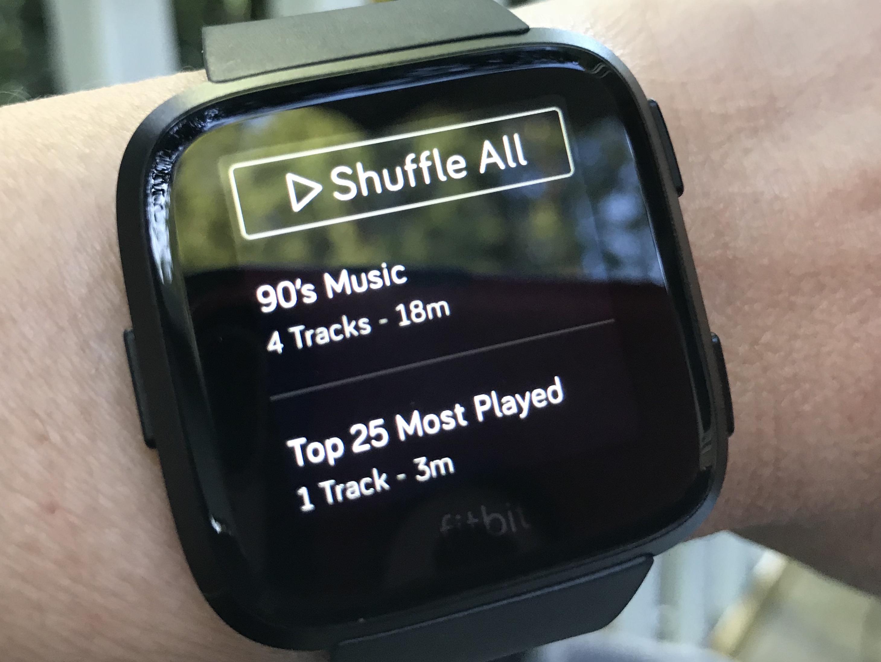 Music Fitbit Versa