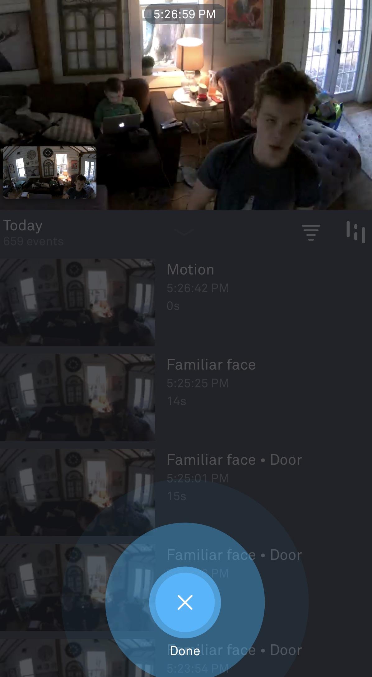 Nest Cam IQ Indoor two way talk