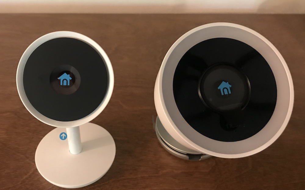 Nest Cam IQ Outdoor and Indoor home security cameras