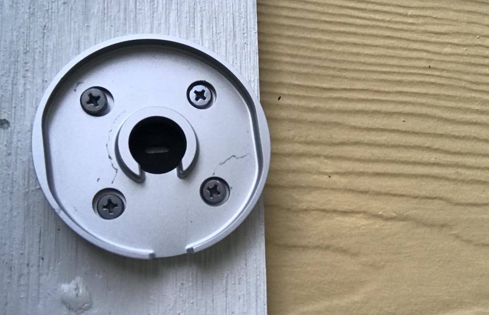 Nest Cam IQ Outdoor mount plate