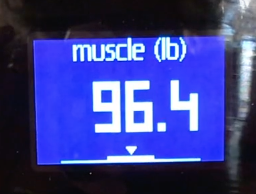 Muscle mass Nokia Body Cardio