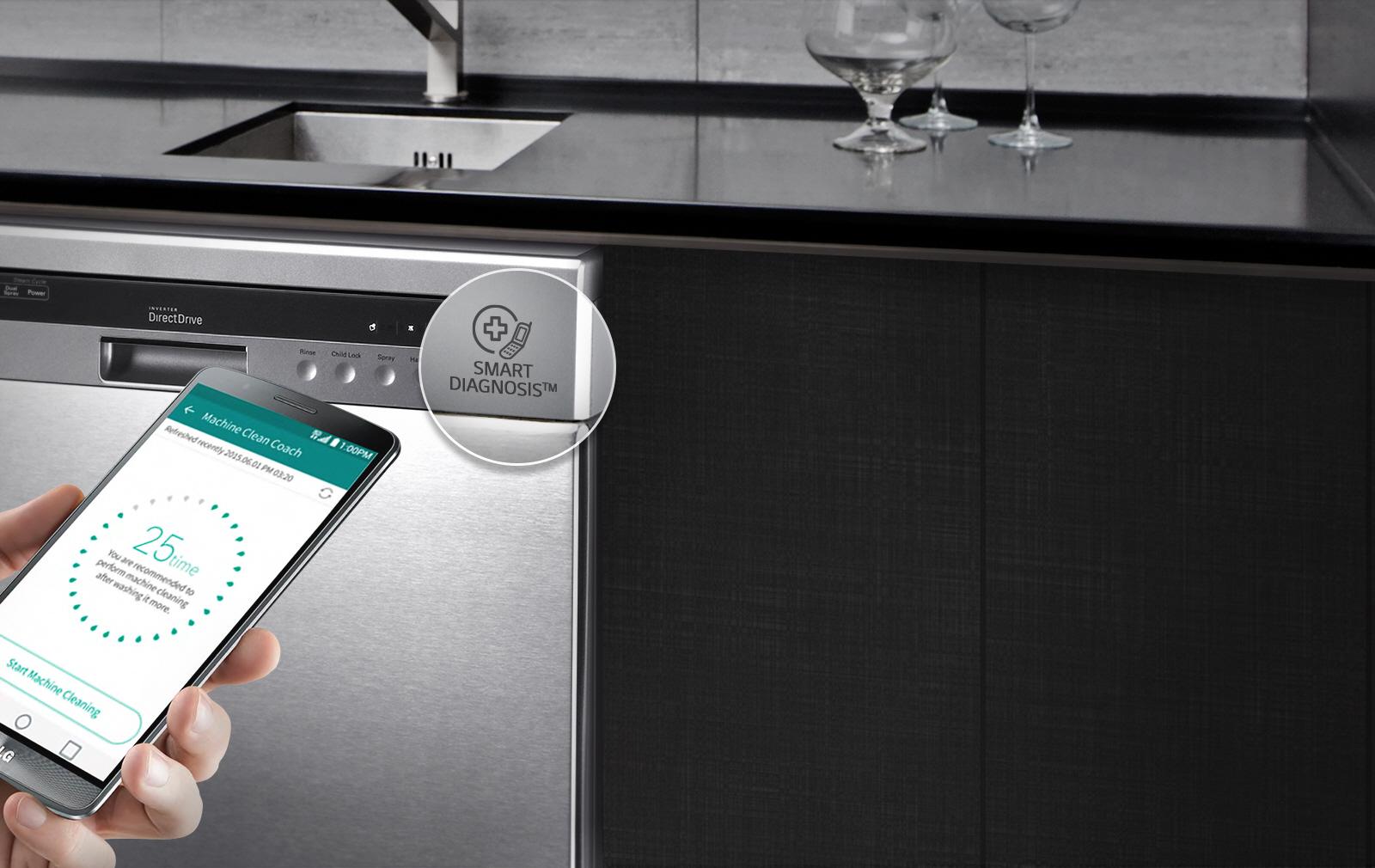 LG Smart dishwasher