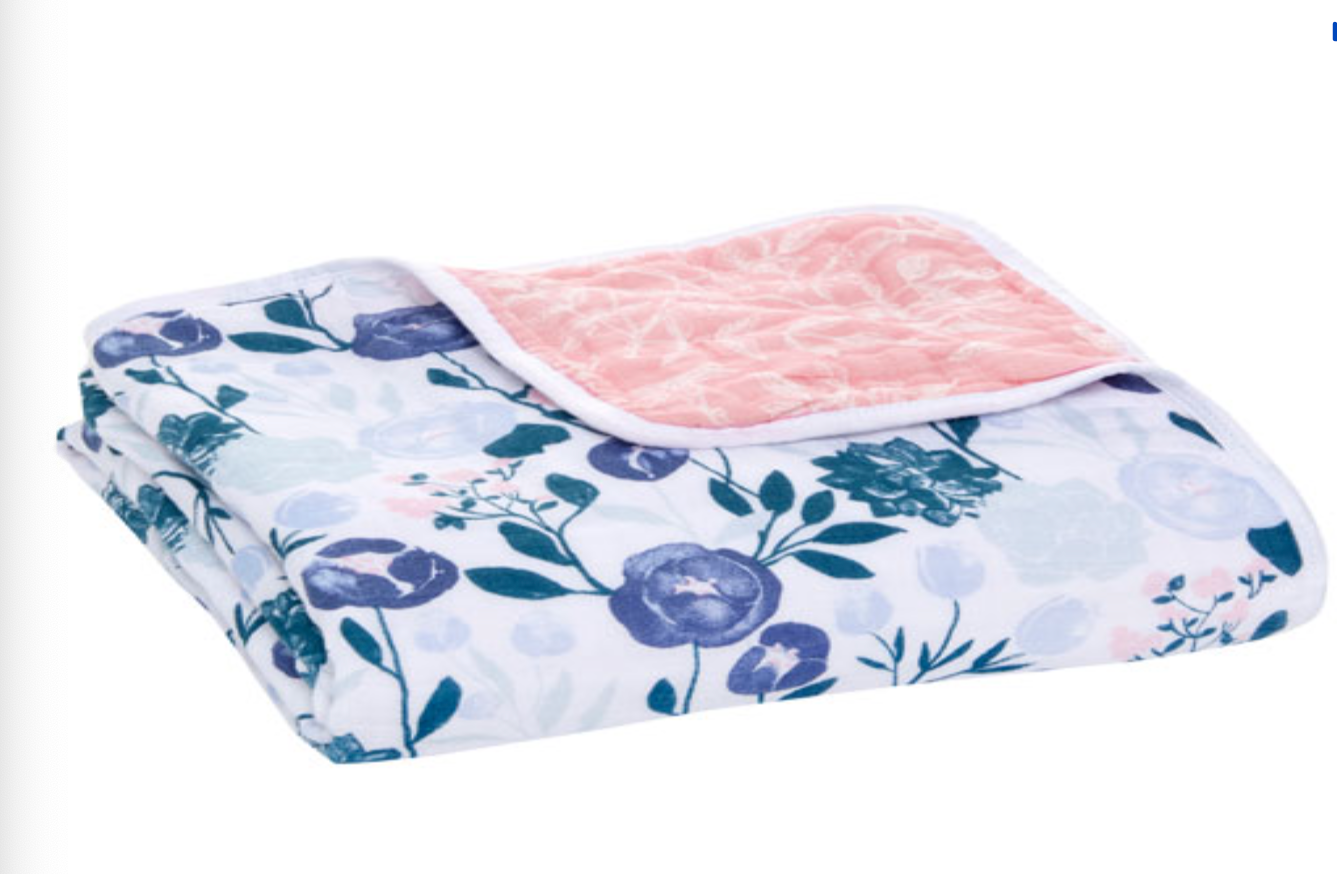 Anais cotton muslin blanket for babies