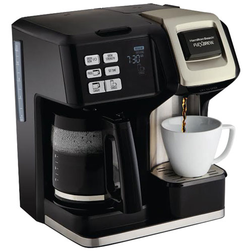 Hamilton Beach Flexbrew 2 Way Coffee Maker 12 Cup Black Multi