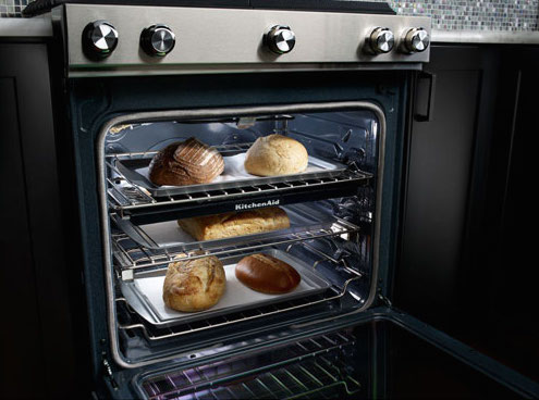 convection ovens - kitchenaid true convection interior