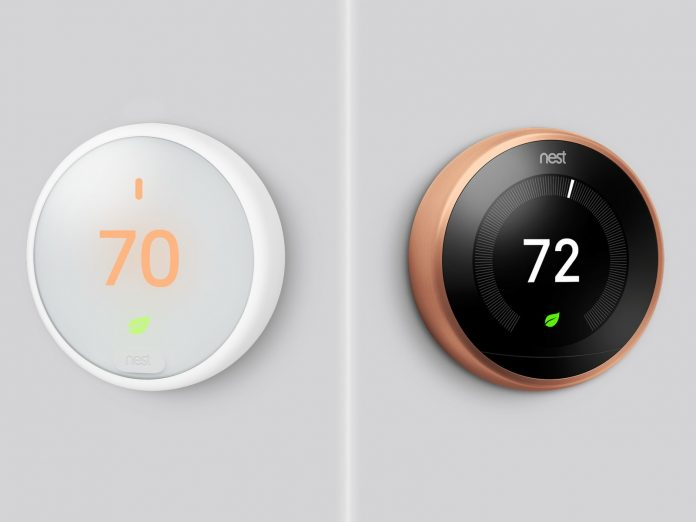 new nest learning thermostats