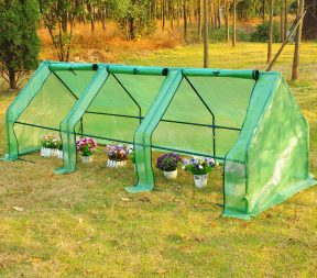 greenhouses and garden shelters - outsunny greenhouse green