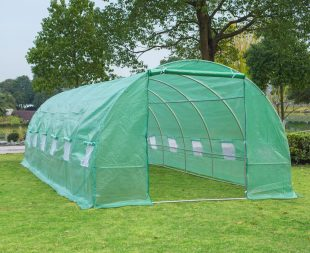 greenhouses and garden shelters - outsunny greenhouse tunnel