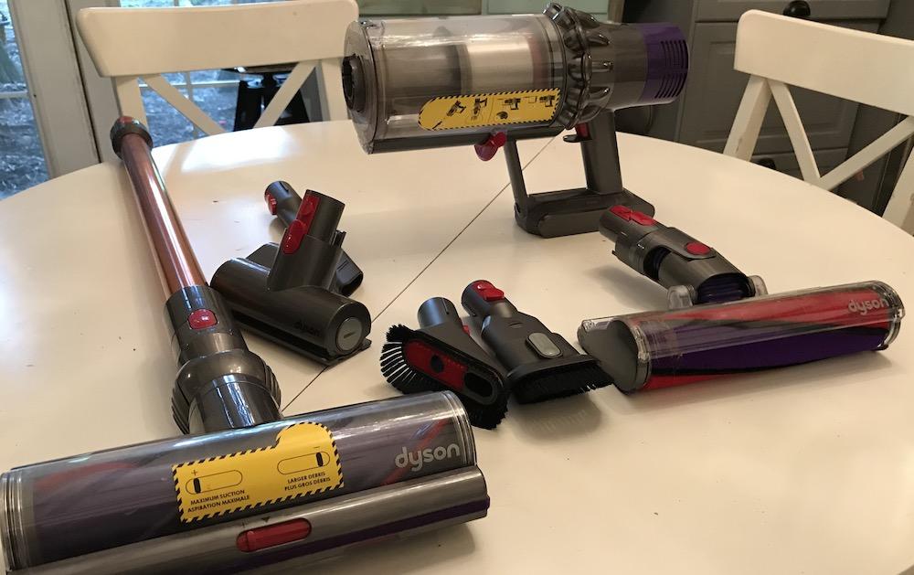 Dyson V10 accessories
