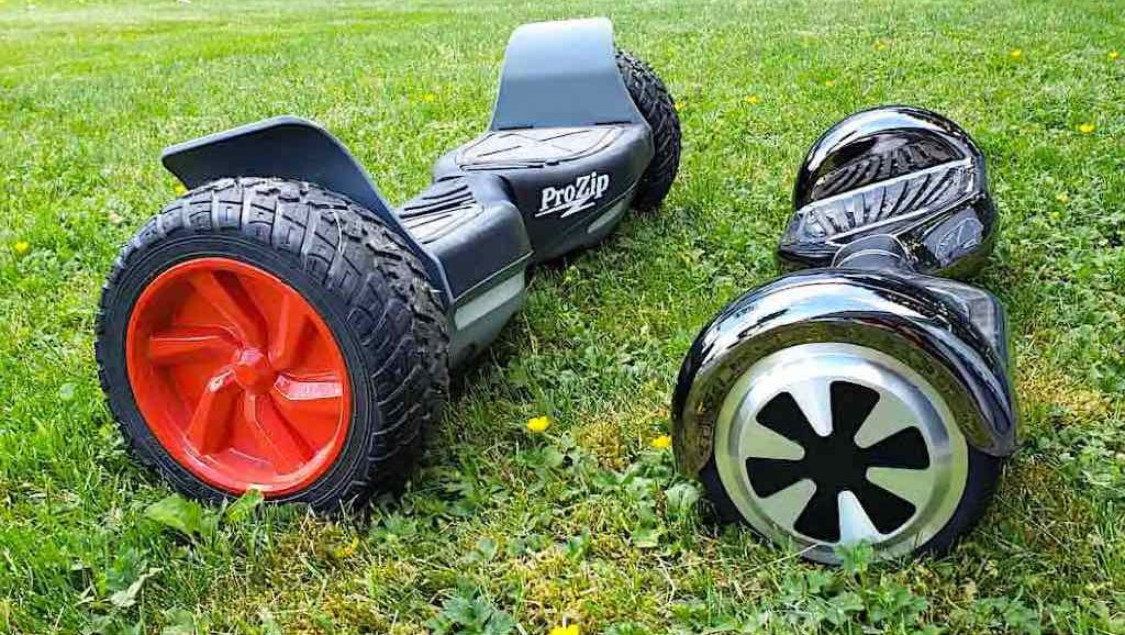 ProZip Hoverboards: hummer and spitfire