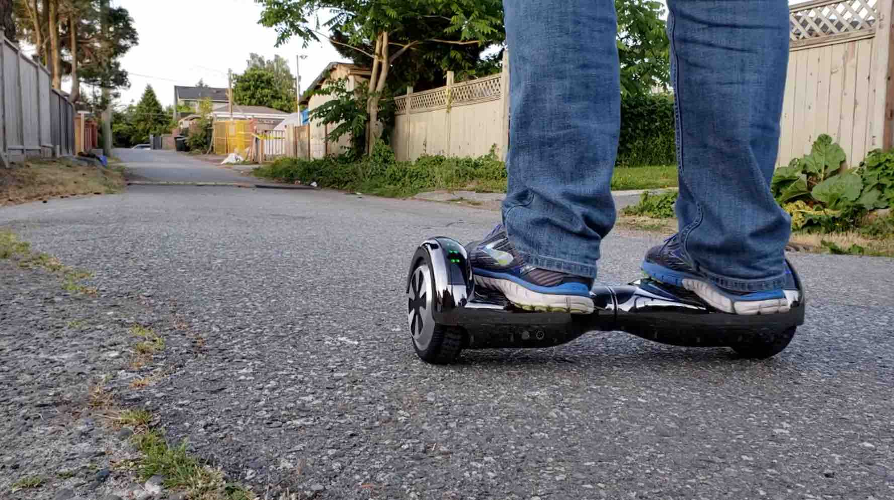 ProZip Hoverboards: testing out the spitfire