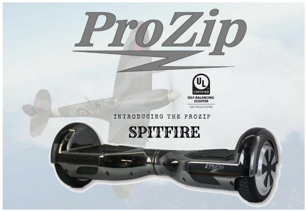 ProZip Hoverboards: spitfire