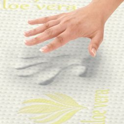 mattress buying guide - aloe vera mattress material