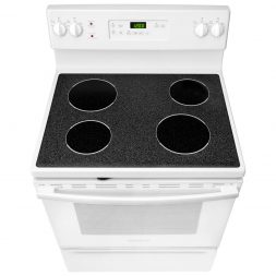 gas vs electric stove - insignia electric stovetop