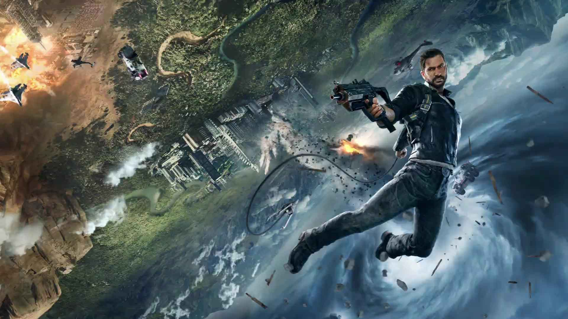 Just Cause 4 Wallpaper: E3 2018: Rico Rodriguez Is Back In Just Cause 4