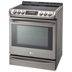 gas vs electric stove - lg probake