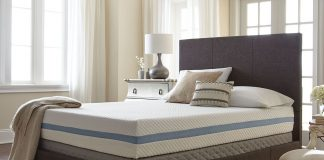 mattress buying guide - simple sleep gel memory foam mattress