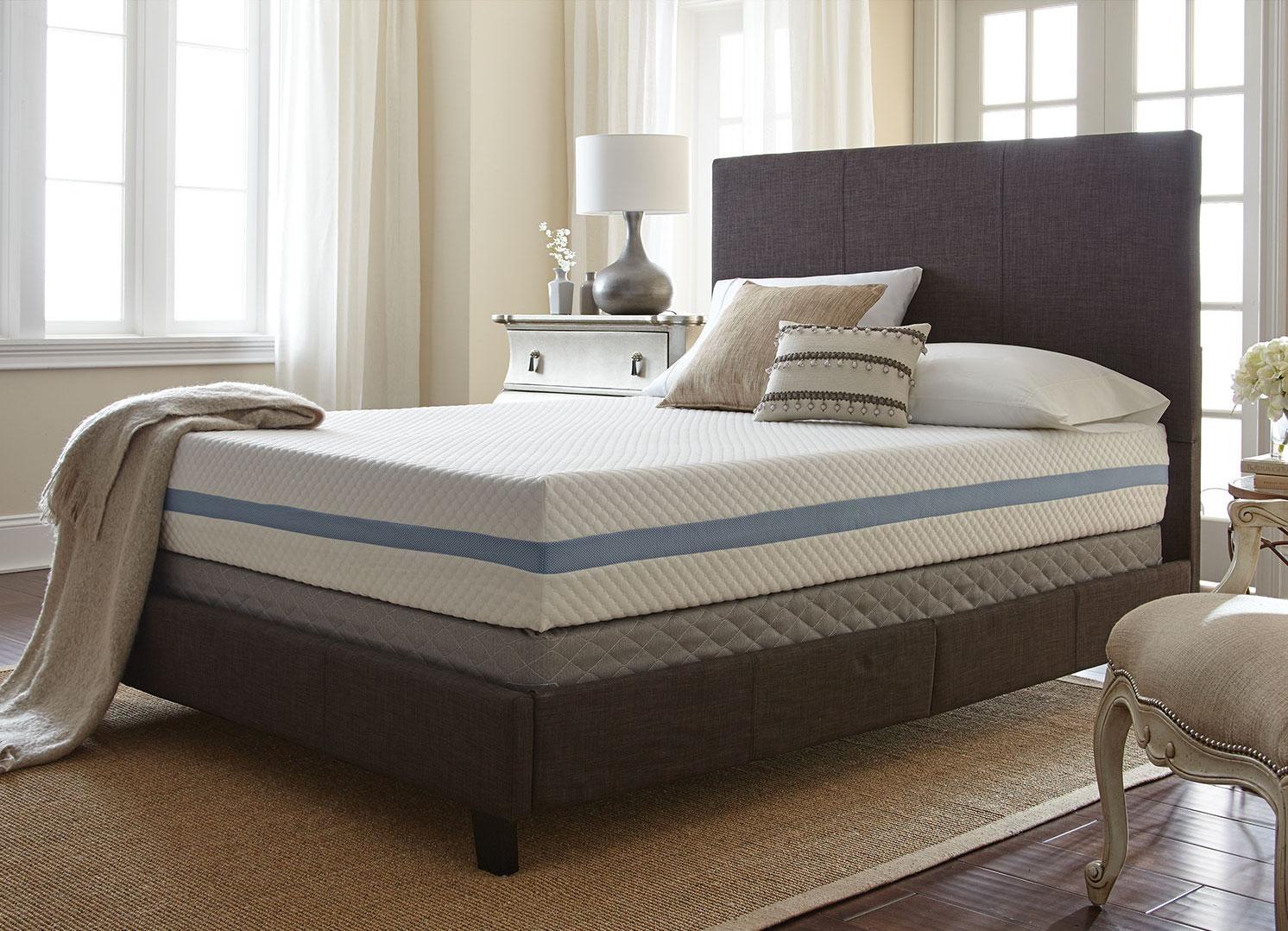 mattress buying guide - simple sleep gel memory foam mattress