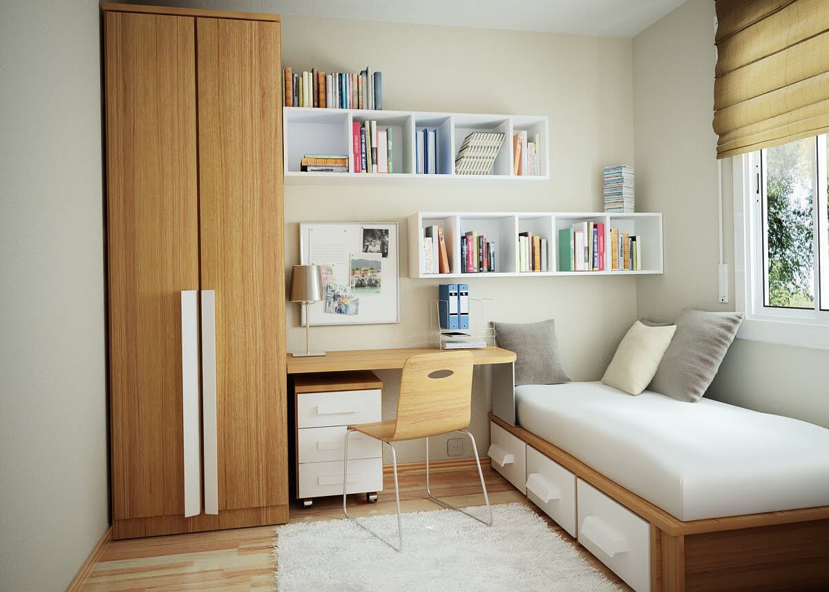 Special Features Small Bedroom Furniture