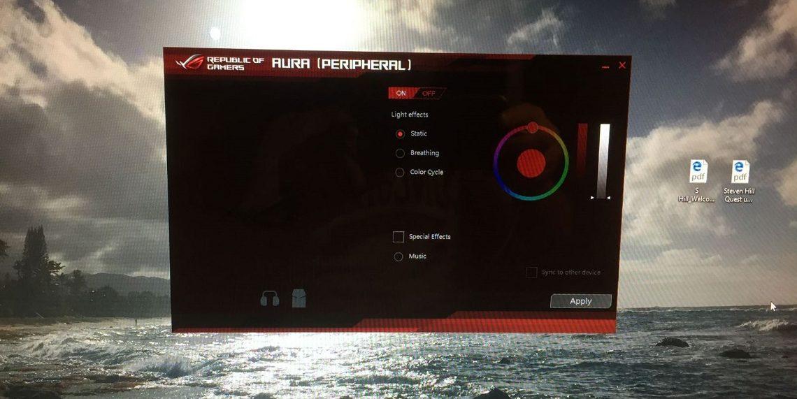 ROG Strix Fusion 500 d'ASUS