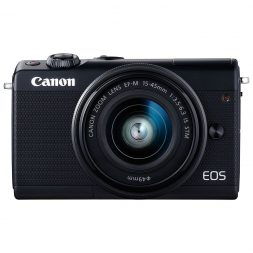 Canon M100 mirrorless camera