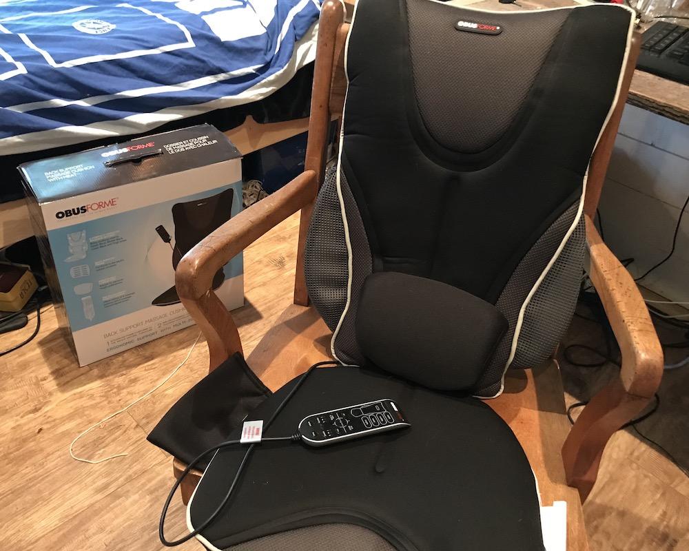 Obusforme Backrest Massage Cushion Review