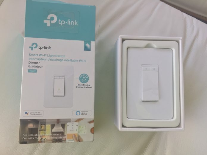 TP Link HS220 Smart Dimmer Switch Featured Image