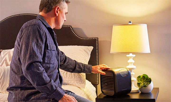 cooling off bedroom air quality