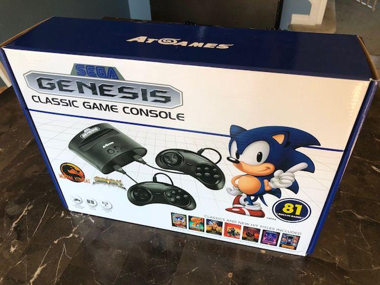 Sega Genesis Classic Game Console Review Best Buy Blog